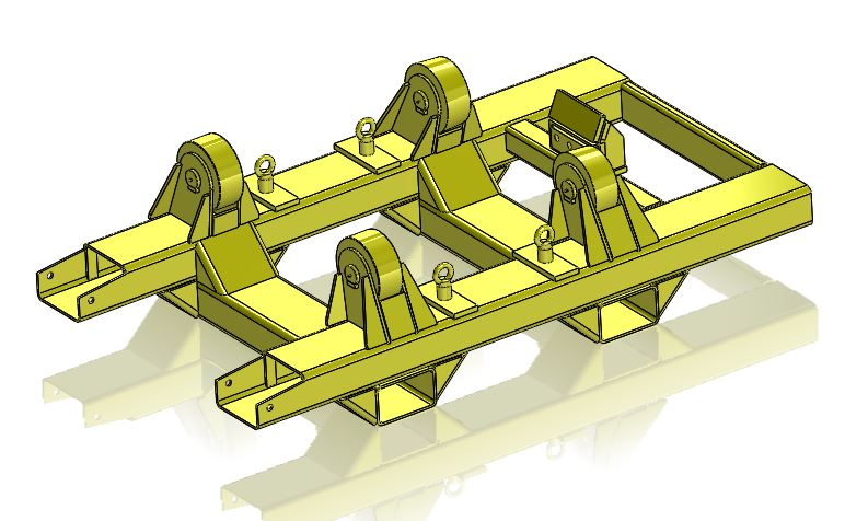 Rotating Welding Jig MOdel