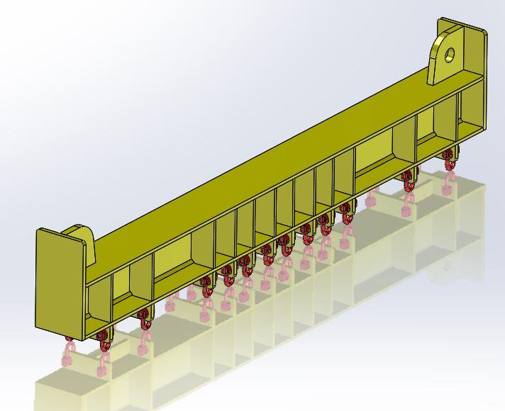 35T lifting beam (purpose built)