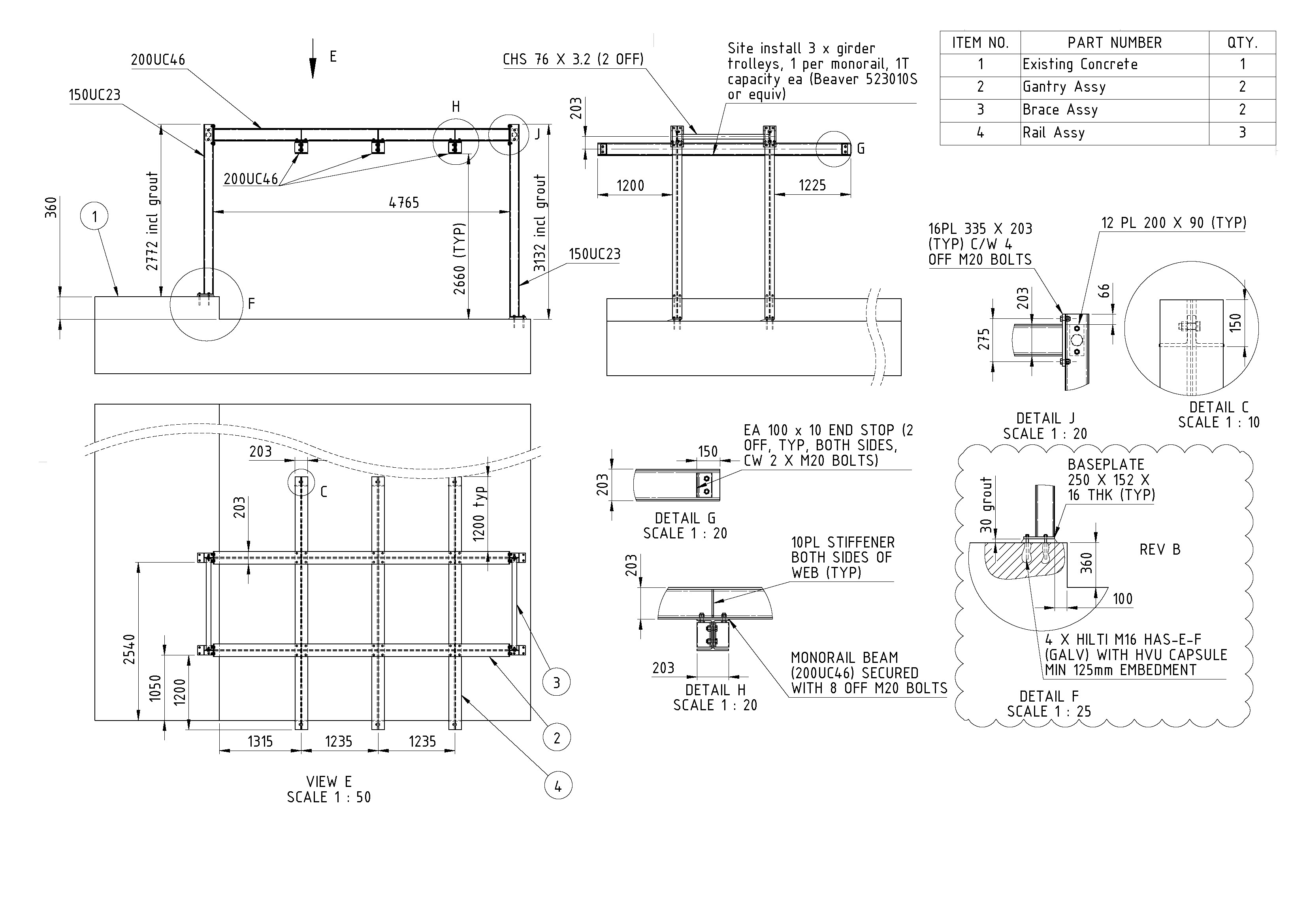 Mill Maintenance Monorail Systems Dynamic Engineering