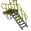 A 3D view of the inspection platform