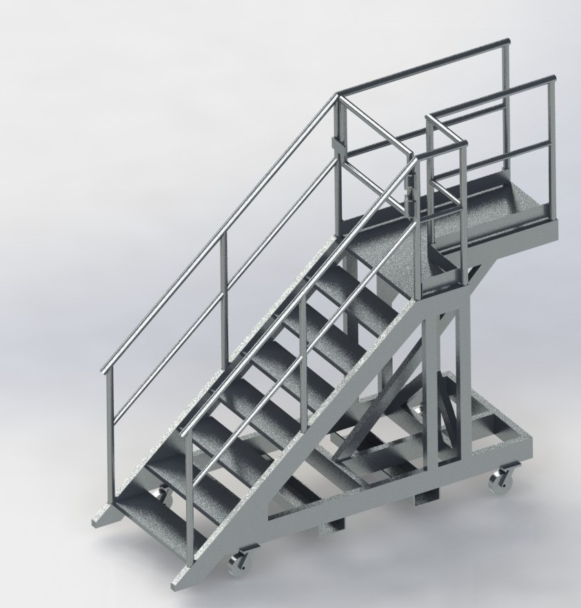 Cantelevered access platforms