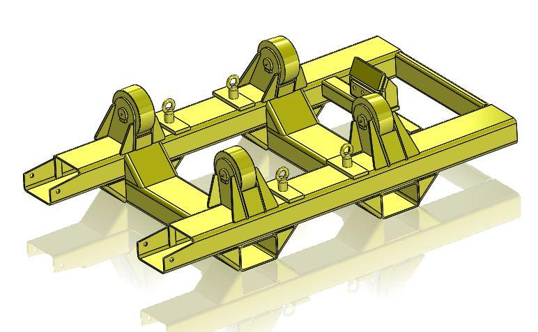 Welding Rotation Jig 7.5T