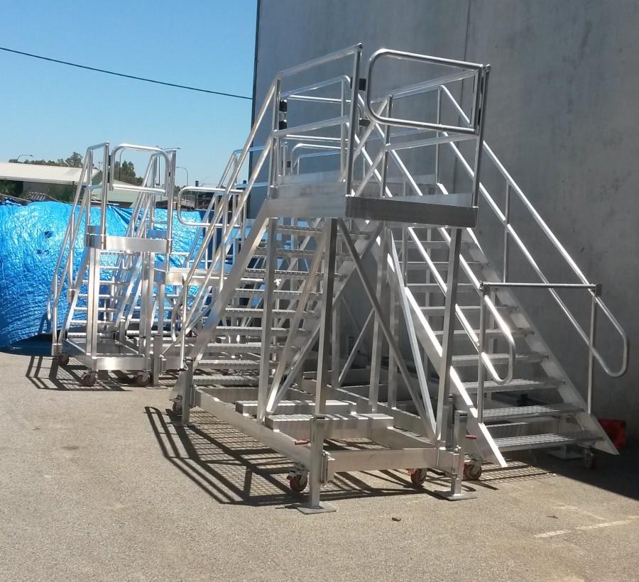 aluminium platforms